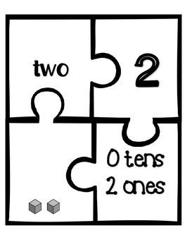 Place Value Puzzles (1-20)