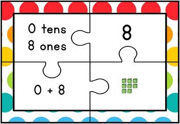 Place Value Puzzles 1 - 99