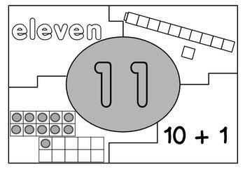 Place Value Puzzles 10-20