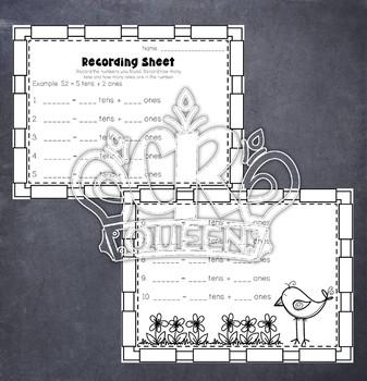 Place Value Puzzles 2 Digit Expanded Form