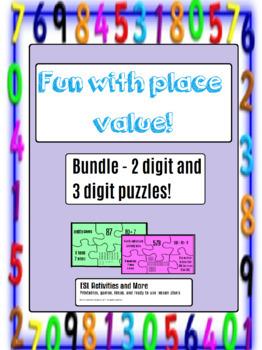 Place Value Puzzles - BUNDLE