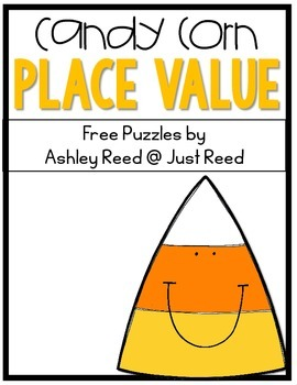 Place Value Puzzles ~ Candy Corn {FREEBIE}