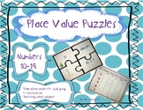 Place Value Puzzles Numbers 10-19