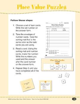 Place Value Puzzles (Place Value Through Millions)