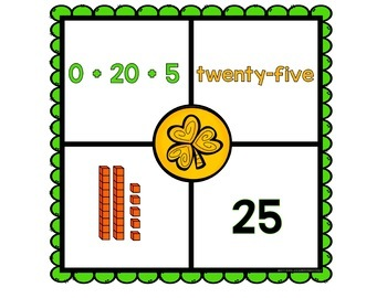 Place Value Puzzles - St. Patrick's Day
