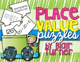 Place Value Puzzles: Standard, Expanded, Word Form