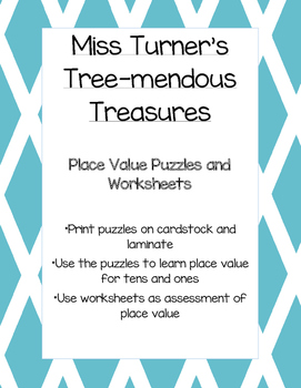 Place Value Puzzles (Tens and Ones)