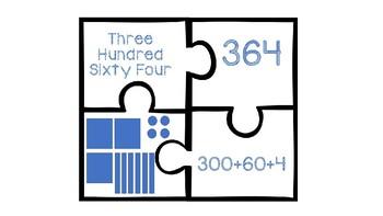 Place Value Puzzles (Three Digit)