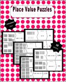 Place Value Puzzles - Through Thousands Place