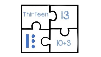 Place Value Puzzles (Two Digit)