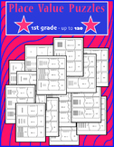 Place Value Puzzles through 120 (first grade)