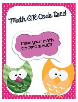Place Value QR Code Dice-Math Centers!!