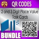 Place Value QR Code Task Card Bundle