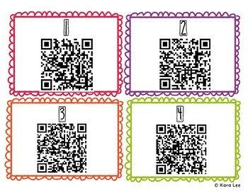 Place Value QR Code Task Cards