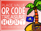 Place Value QR Code Treasure Hunt {60 Task Cards & MORE}