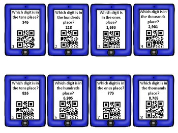 Place Value QR Practice