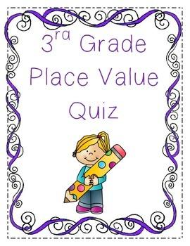 Place Value Quiz-3rd Grade