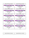 Place Value Quiz Quiz Trade Cards - SPANISH