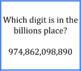 Place Value Game - Quiz and Trade - Millions and Billions