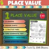 PLACE VALUE: Quizzes, Lessons, Practice & Vocabulary