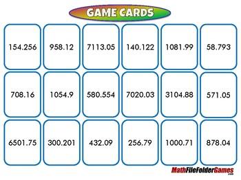 Place Value Race - 5th Grade Game [CCSS 5.NBT.A.3a]