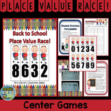 Back To School Place Value Math Center Games