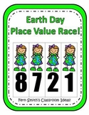 Earth Day Place Value Math Center Games