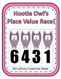 Hootie Owl's Place Value Math Center Games