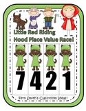 Little Red Riding Hood Place Value Math Center Games