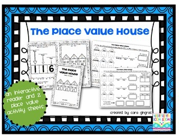 Place Value Reader and Activities {K-2}