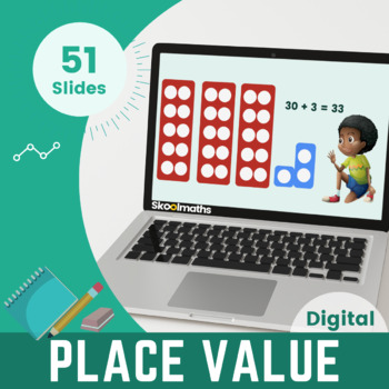Place Value – Reading and Writting Numbers Kindergarten, Year 1