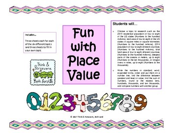 Place Value Real Life Activity