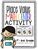 Place Value Recall Activity Center Game