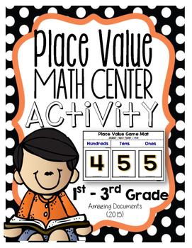 Place Value Recall - Math Center Activity