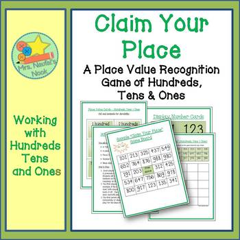 Place Value Game -  Hundreds, Tens and Ones