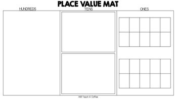 Place Value Regrouping Mat
