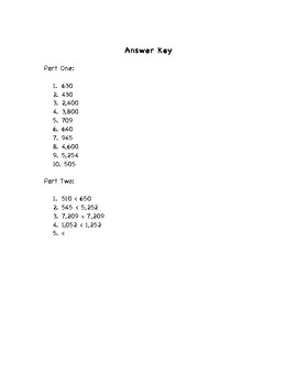 Place Value / Regrouping Review