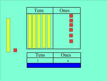 Place Value Regrouping Tens to Ones Smartboard Lesson