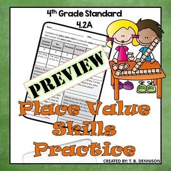 Place Value Relationship Practice