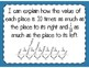 Place Value Relationships Interactive Notebook Activity & Quick Check TEKS 4.2A