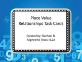 Place Value Relationships Task Cards