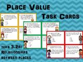 Place Value Relationships Task Cards TEKS 3.2B
