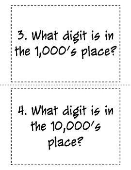 Place Value Relay