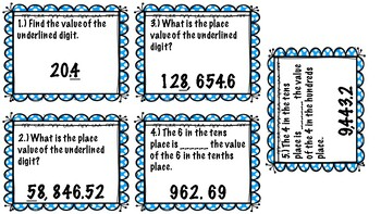 Place Value Relay Races (5.NBT.A.1)