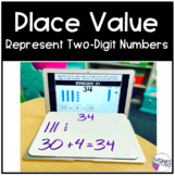 Place Value | Represent Two Digit Numbers | Tens and Ones