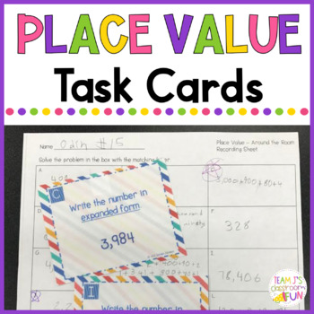 Place Value Review - Around the Room