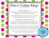 Place Value Review Bingo