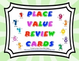 Place Value Review Cards