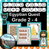 Place Value Review - Egyptian Math Quest