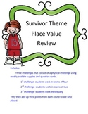 Place Value Review Game Survivor Theme